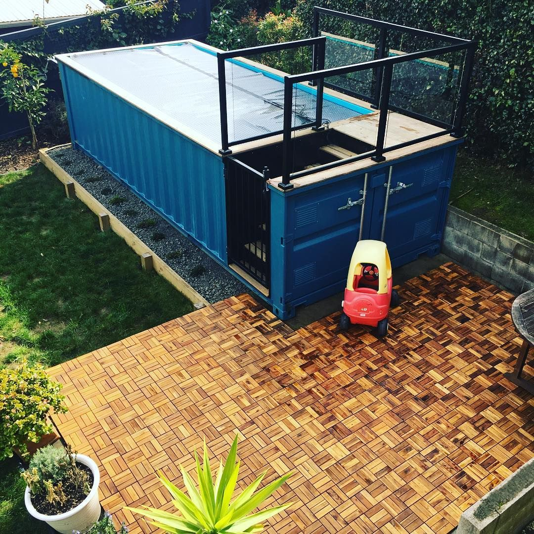 would you get a shipping container pool? | dream home | pinterest