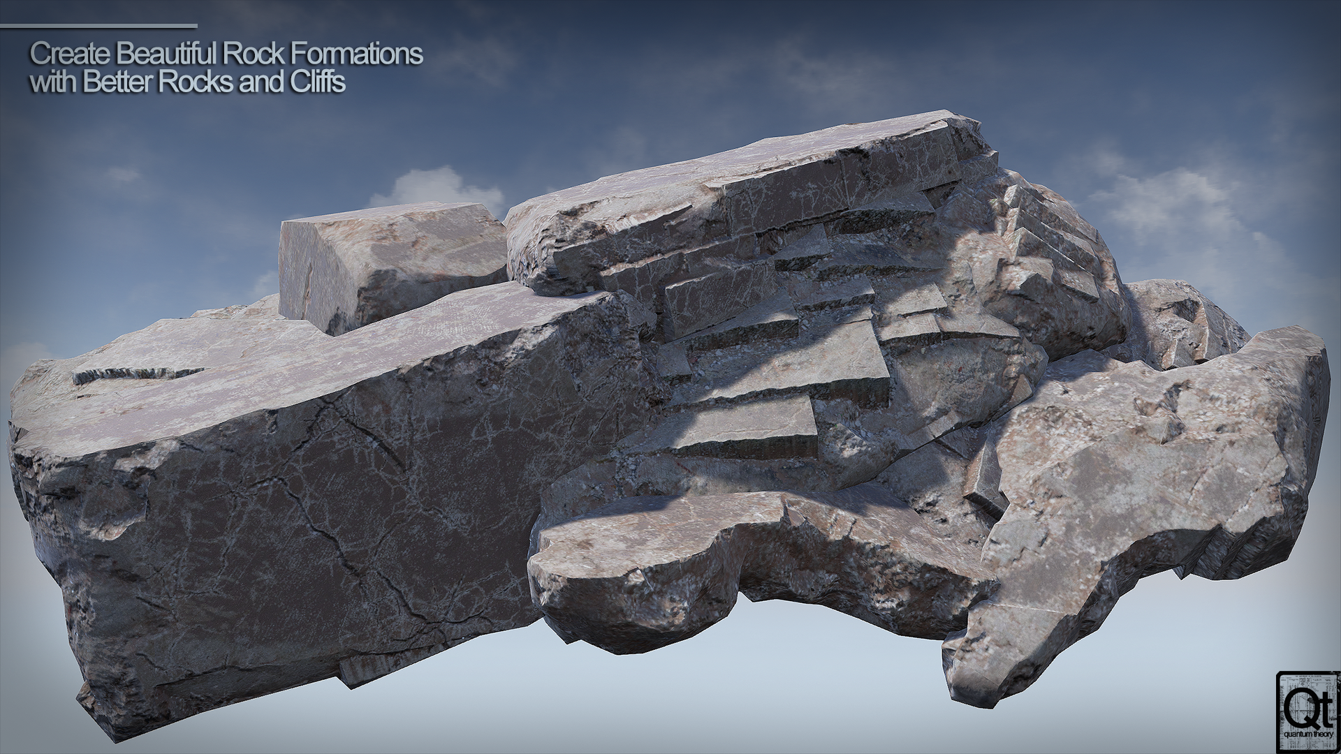 Better Rocks and Cliffs by Quantum Theory in props - UE4 Marketplace
