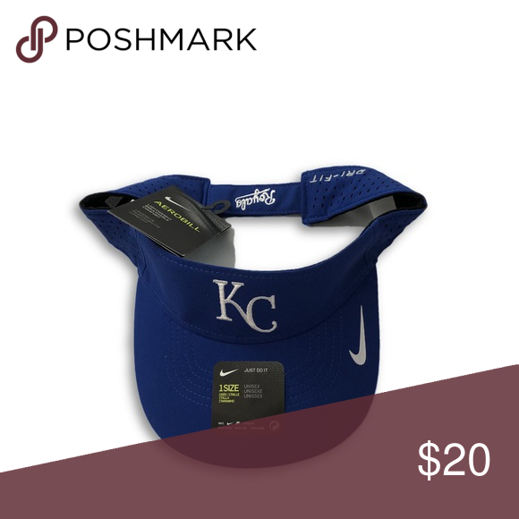 8735d0c8 Kansas City Royals Nike Dri-Fit Aerobill Visor Hat Kansas City ...
