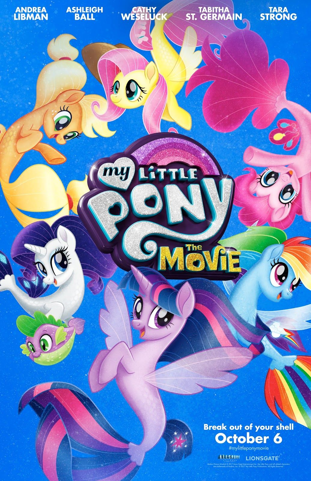 Image result for MY LITTLE PONY - THE MOVIE ( 2017 ) GIF POSTER