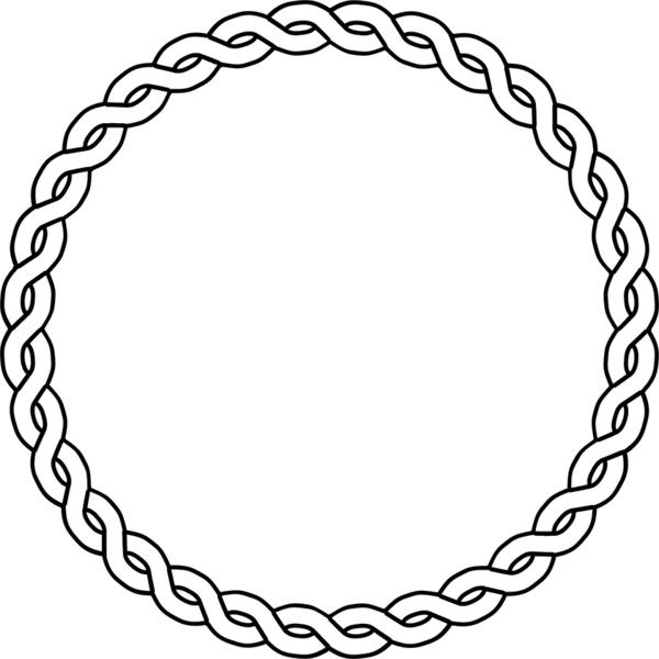 rope border circle public domain clip art image wpclipart com rh pinterest ca clip art circle designs clip art circle of stars
