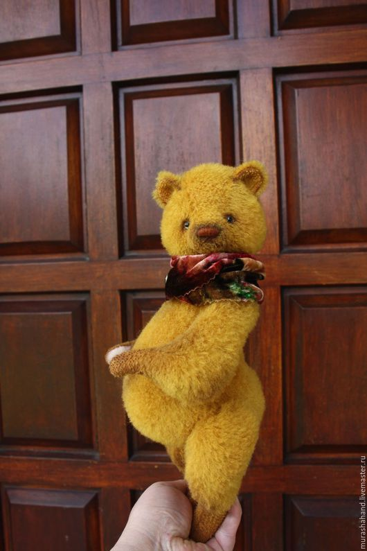 Мишки Тедди ручной работы. Застенчивая Лиза   27  см во весь рост. Наташа Мураша (murashahand). Интернет-магазин Ярмарка Мастеров.