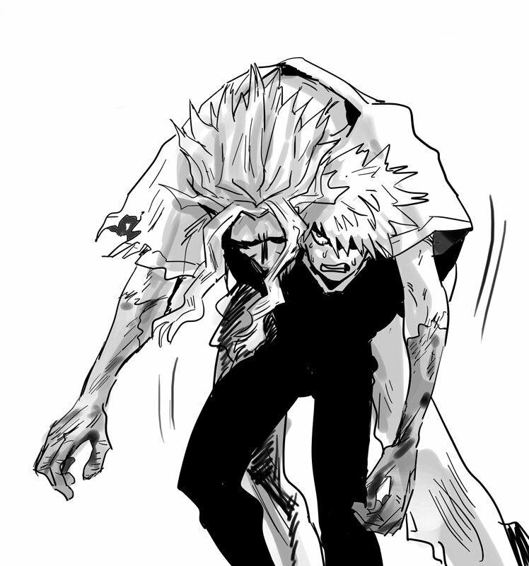 Bakugou Katsuki Toshinori Yagi Boku No Hero Academia My Hero Academia Manga Hero My Hero
