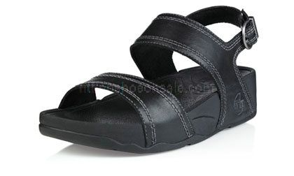 89ac1ff8b5055f Womens Sandals Fitflop Positano Black Shoes   Cheap Fitflop Shoes UK Sale
