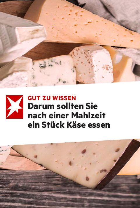 Warum Sie nach dem Essen ein Stück Käse essen sollten