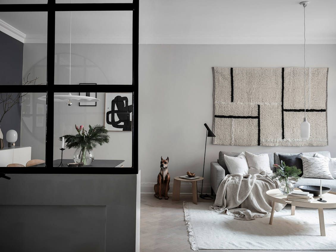 Aug a bright studio with nordic styling