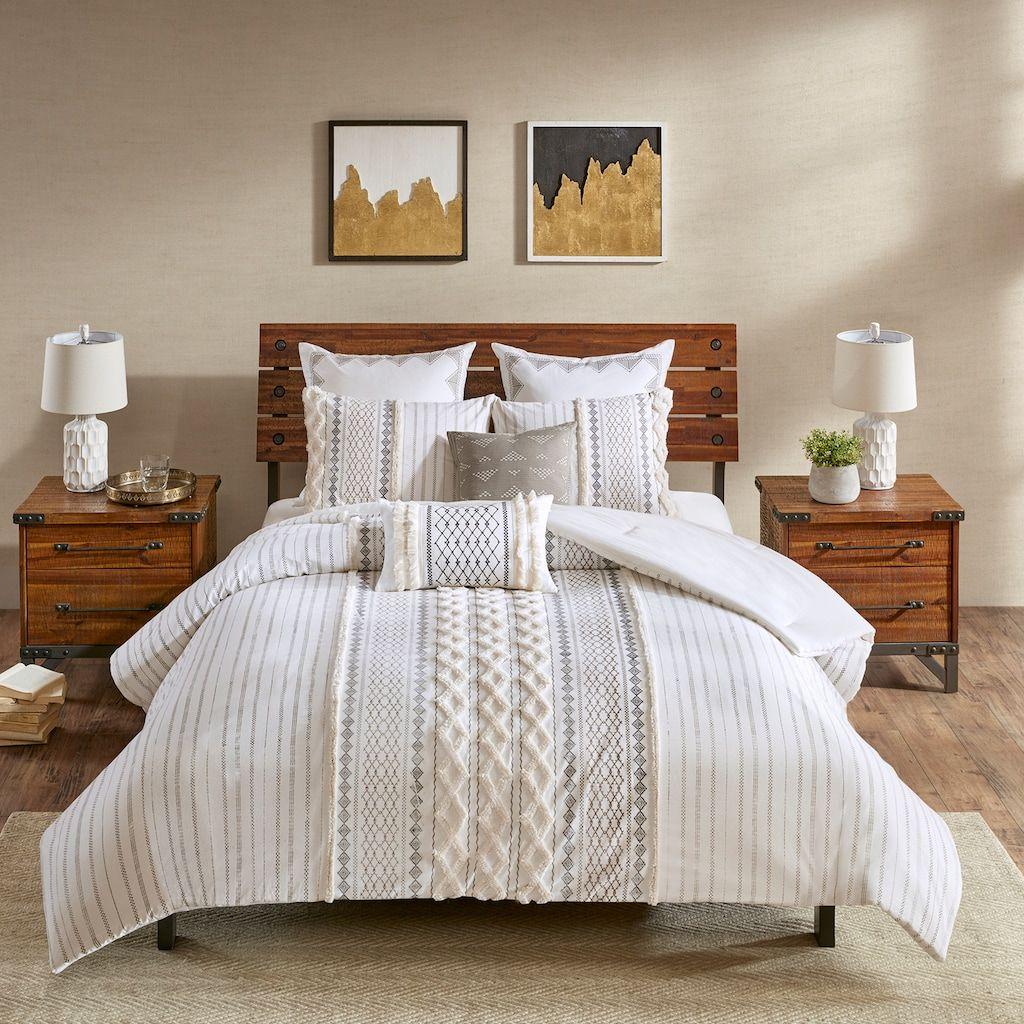 Ink Ivy Imani 3 Piece Cotton Comforter Set Kohls Comforter Sets Bedroom Comforter Sets Comfortable Bedroom