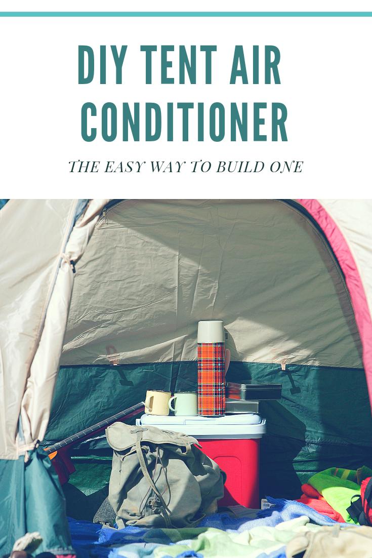 Cheap DIY Tent Air Conditioner Solar Powered Tent air