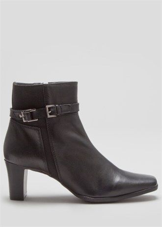 Soleflex Real Leather Ankle Boots
