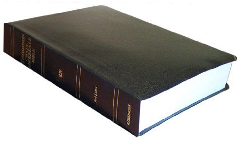 Thompson Chain Reference Bible (Style 541) - Handy Size MISSION EDITION KJV - Black Imitation Leather