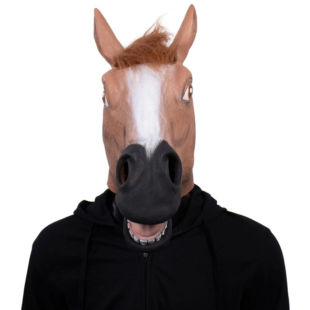Printable Horse Mask Mask Horse Mask Animal Masks Printable Animal Masks