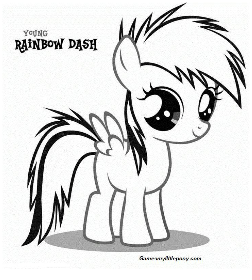 - Rainbow Dash In 2020 Rainbow Dash, My Little Pony Games, Coloring Books