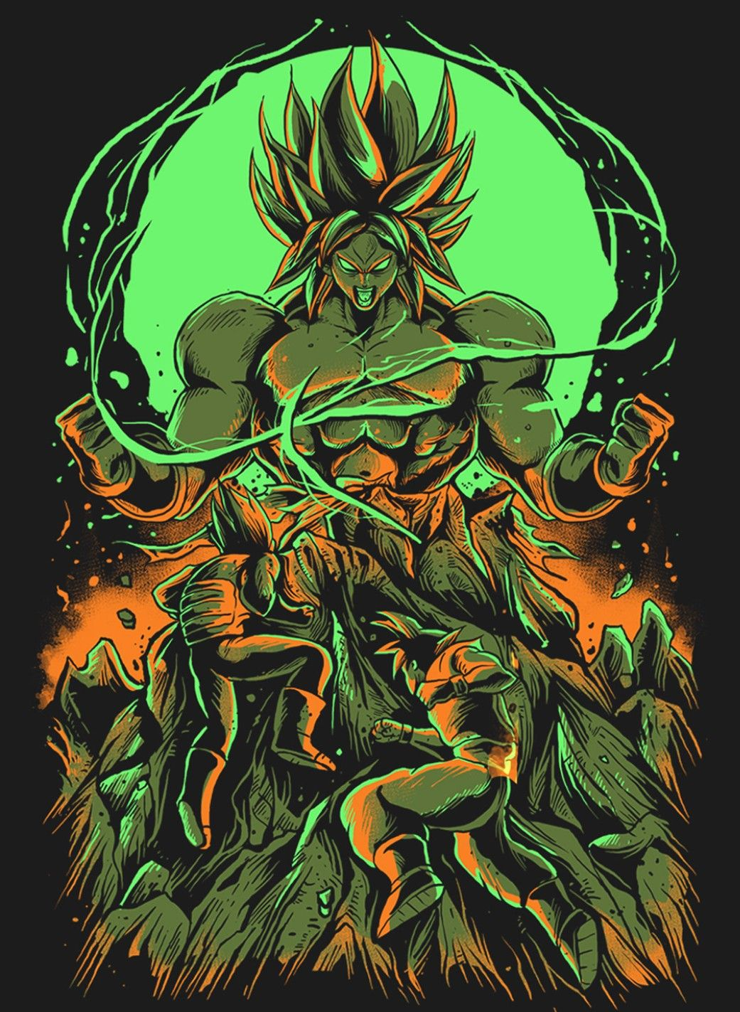 Dragon Ball Super Broly Imagem de tela, Desenhos