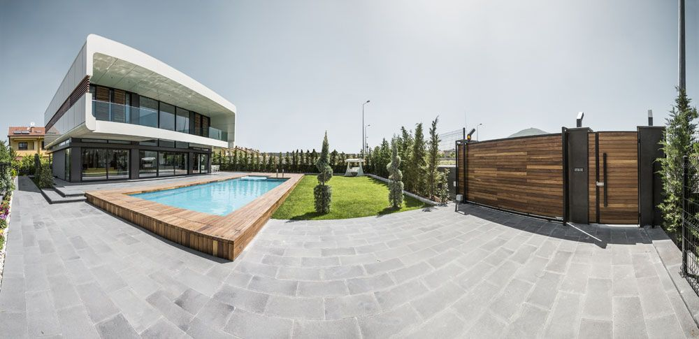 BK House by Bahadır Kul Architects BKA Modern Turkish City Home - modern turkis