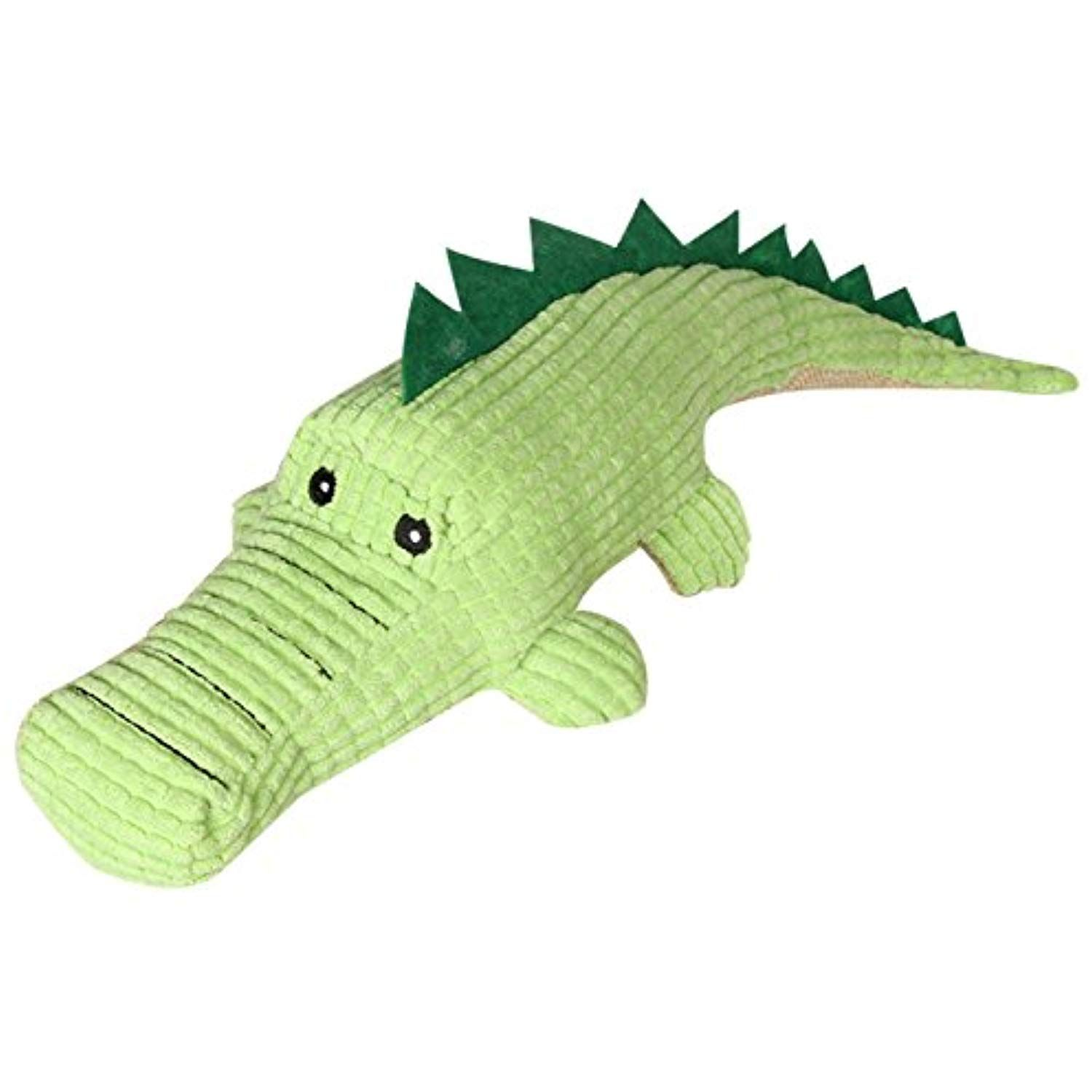 Aubig Crocodile Style Pet Durable Chewing Training Squeak Toy