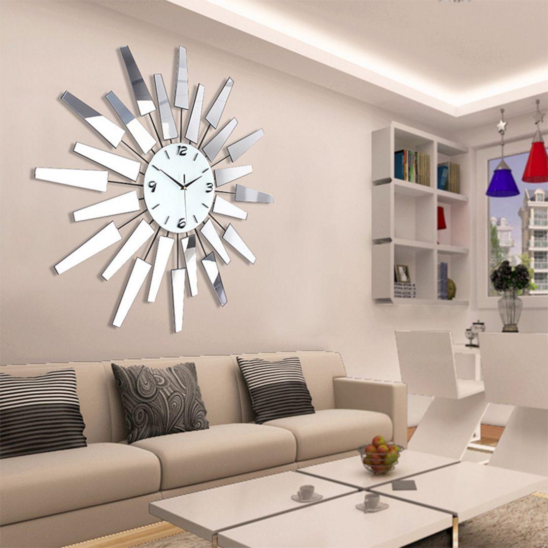 20 Amazing Living Room Wall Clock Design That Easy To Apply Large Wall Decor Living Room Wall Decor Living Room Living Room Wall Designs