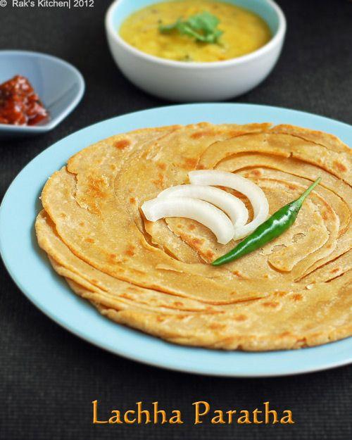 lachha paratha recipe step by step lachedar paratha raks kitchen recipe paratha paratha on hebbar s kitchen recipes laccha paratha id=44659