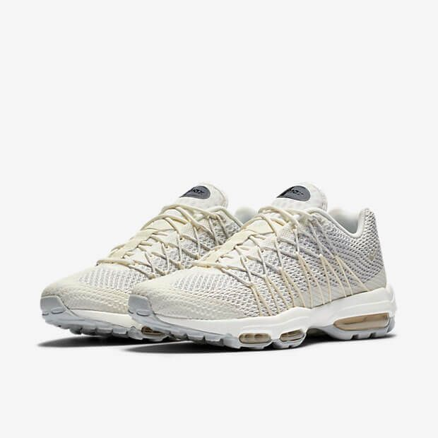 Air Max 95 Ultra Jacquard Sail Summit White is a great new take on