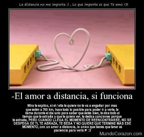 Distancia Frases Amor A Distancia Amor Y Distancia