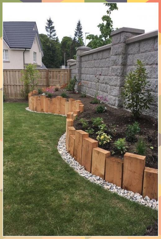 30 Backyard Landscaping Ideas On A Budget - #Budget #design #Background ... #bac...#bac #background #backyard #budget #design #ideas #landscaping #outdoorherbgarden