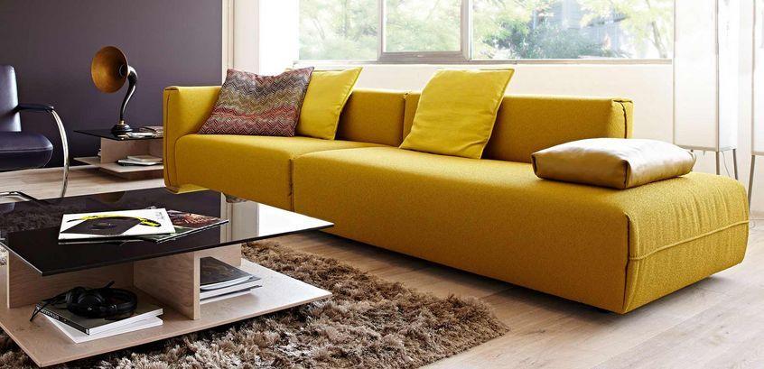 Polstermöbel Koinor Glenn | Interior | Pinterest | Sofa und Gelb