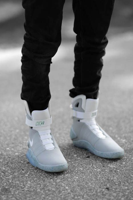 back to the future | Chaussures homme, Nike air mag et