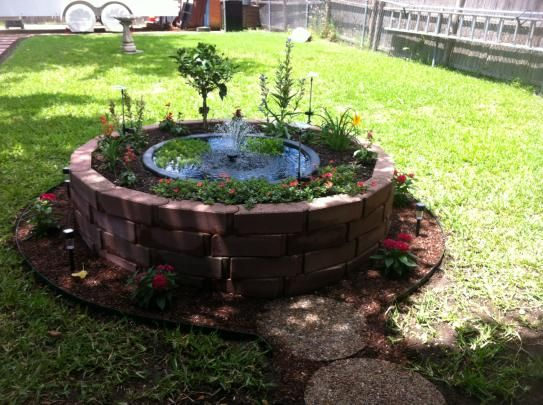 Beckett 35 Gal Plastic Patio Pond Pp1035 At The Home Depot Diy Ponds Backyard Fish Pond Gardens Backyard Water Feature
