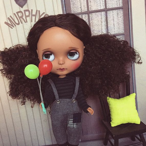 Takara OOAK Custom Blythe Doll Calvin From by happydollfamily