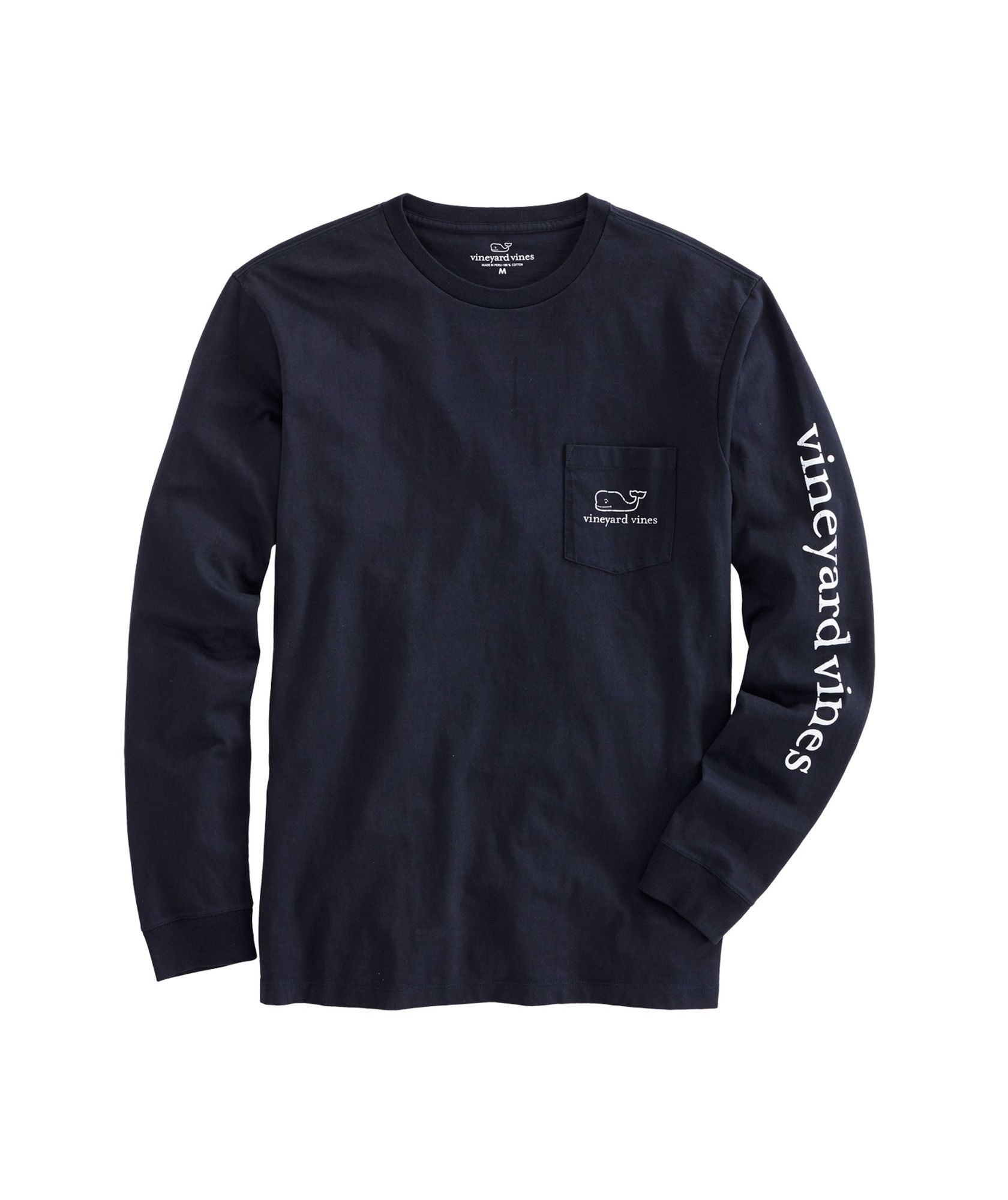b4eb9ab012ce Long-Sleeve Vintage Whale Graphic Pocket T-Shirt | Want | Long ...
