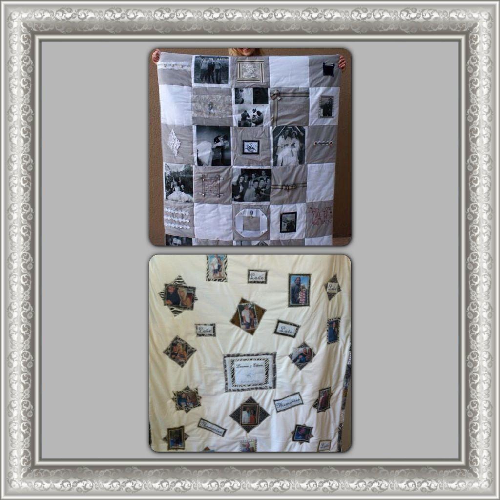 Meaningful Wedding Gift Ideas: Pinterest Idea, Wedding Blanket! Best Wedding Gift! Made