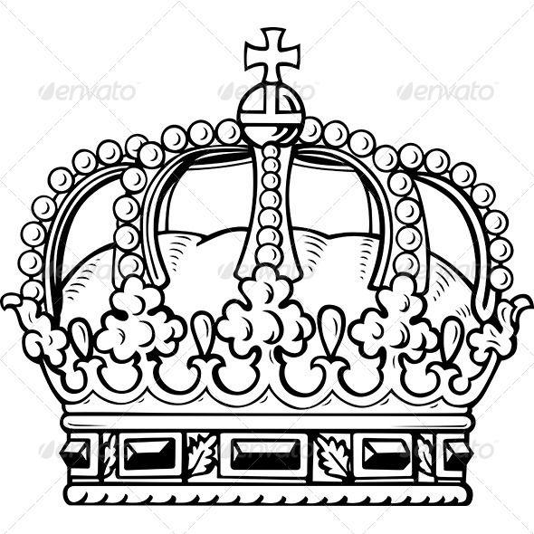 Crown Dibujos Arte