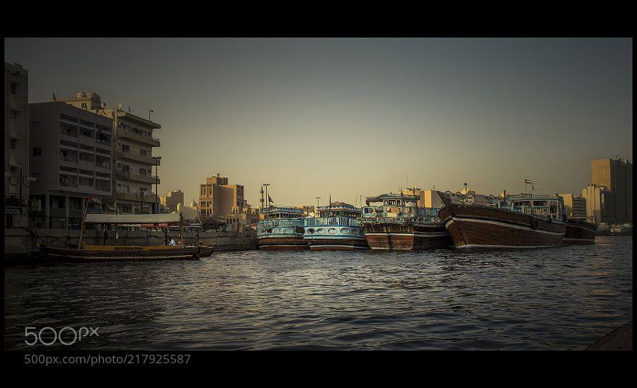 Dubai creek by amatverny