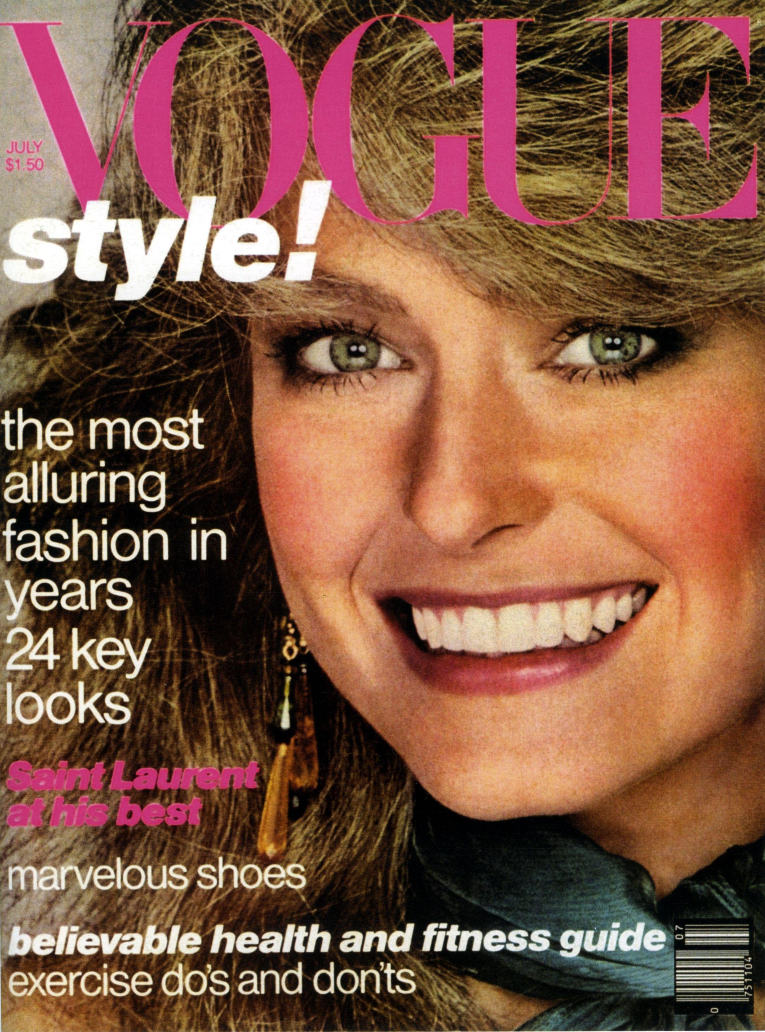 Farrah Fawcett Magazine Cover