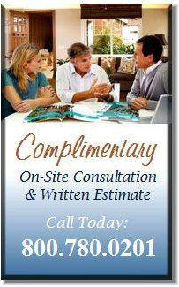 Estimates are always free, call 800-780-0201