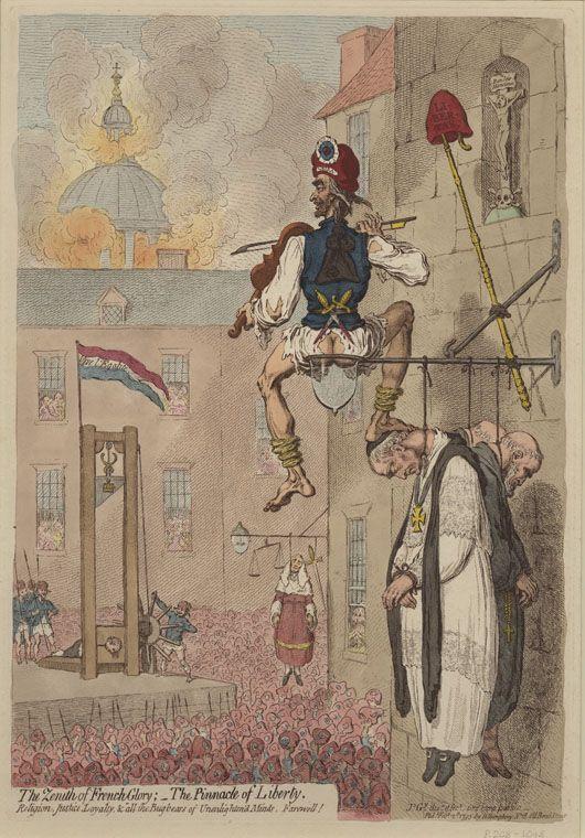 French Revolution James Gillray French Revolution Image
