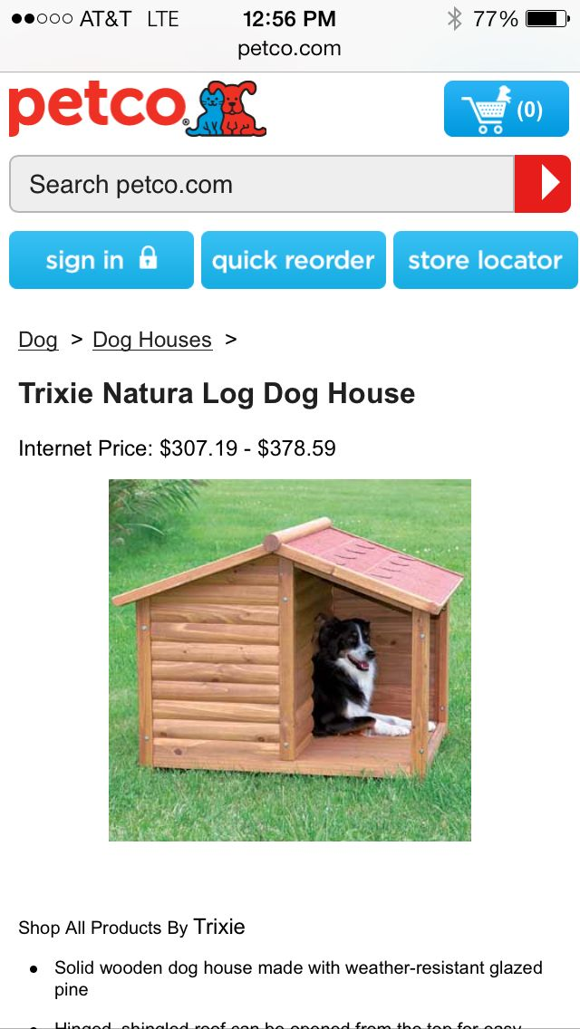 Petco Wooden Dog House Petco Dog House