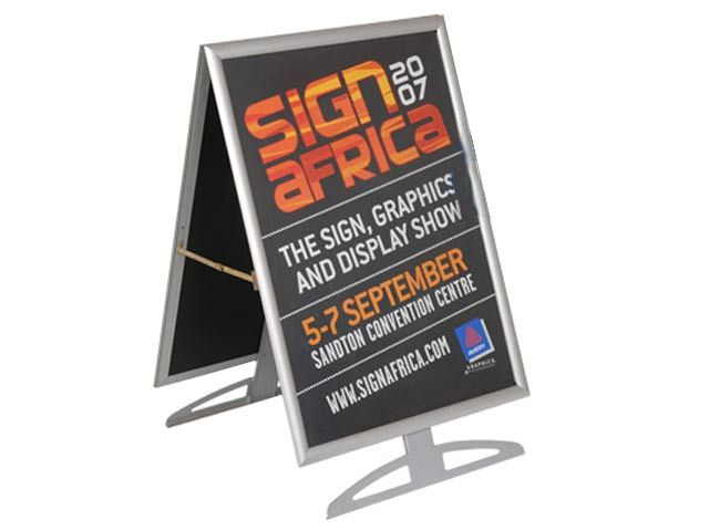 A1 Floor Stand At Banners Ignition Marketing Corporate Gifts