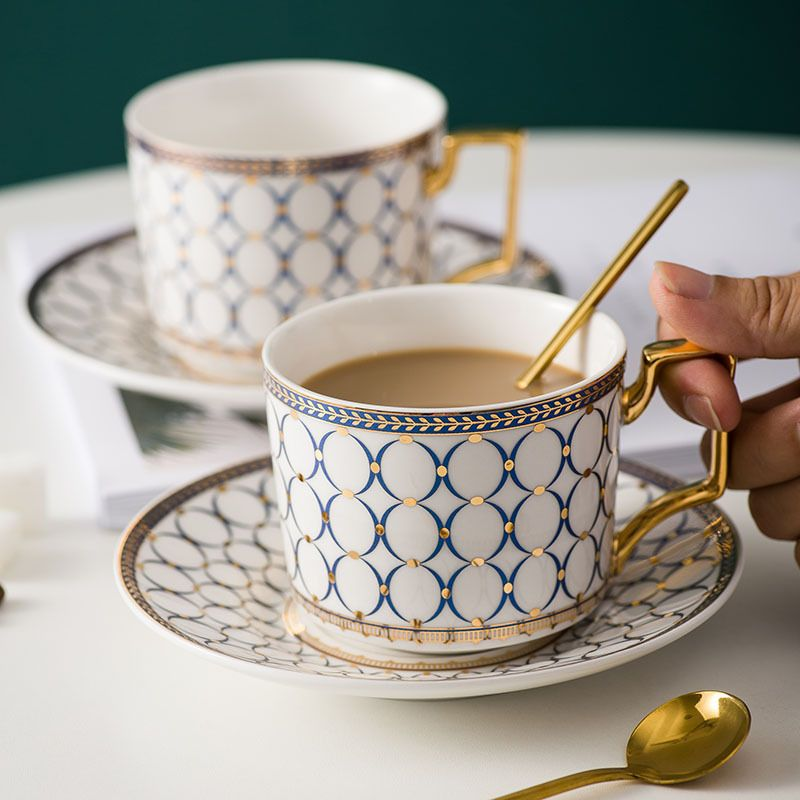 Espresso Porcelain Coffee Tea Set Turkish Ceramic Cup And Saucer Set In 2020 Tea Set Thermos Bottle Ceramic Cups