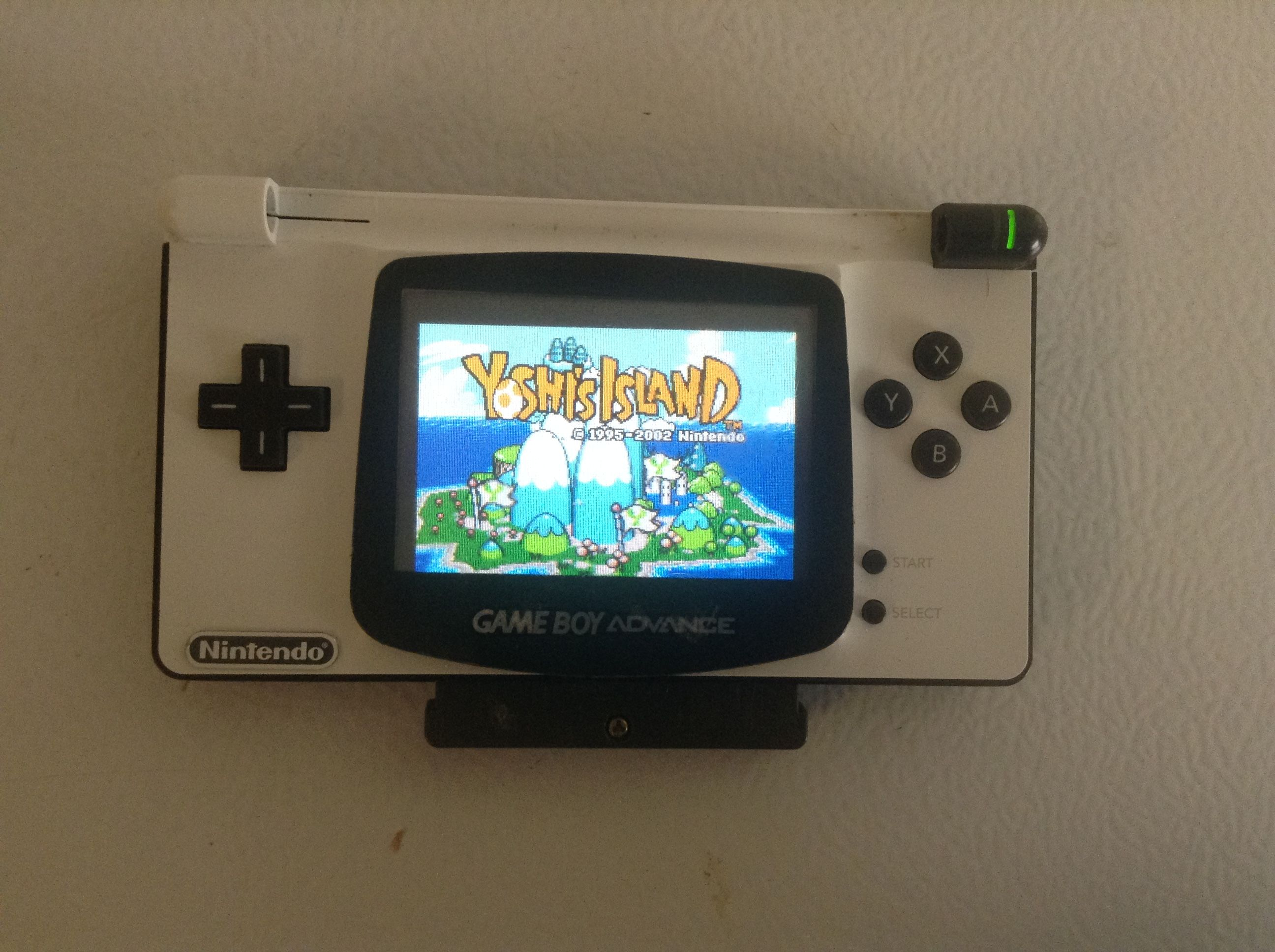 custom nintendo ds lite to gameboy advance mod retro gaming tv