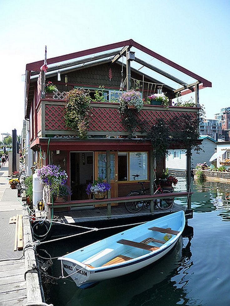 Pin by Kelly Palmer on Boat Life Houseboat living