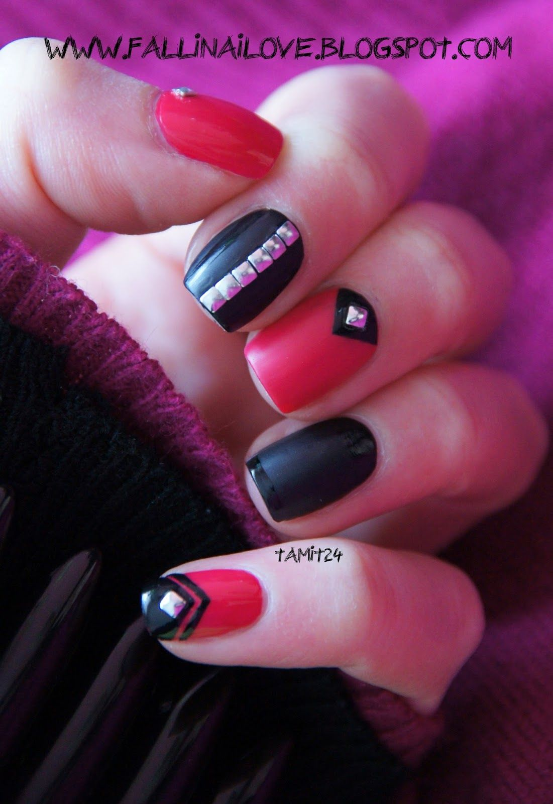 fall in ...naiLove!: PUNK ROCK nails...