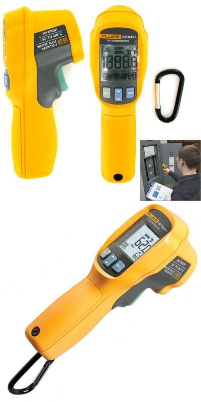 FLUKE - 62 MAX+ Professional Industrial Non-Contract Dual Laser