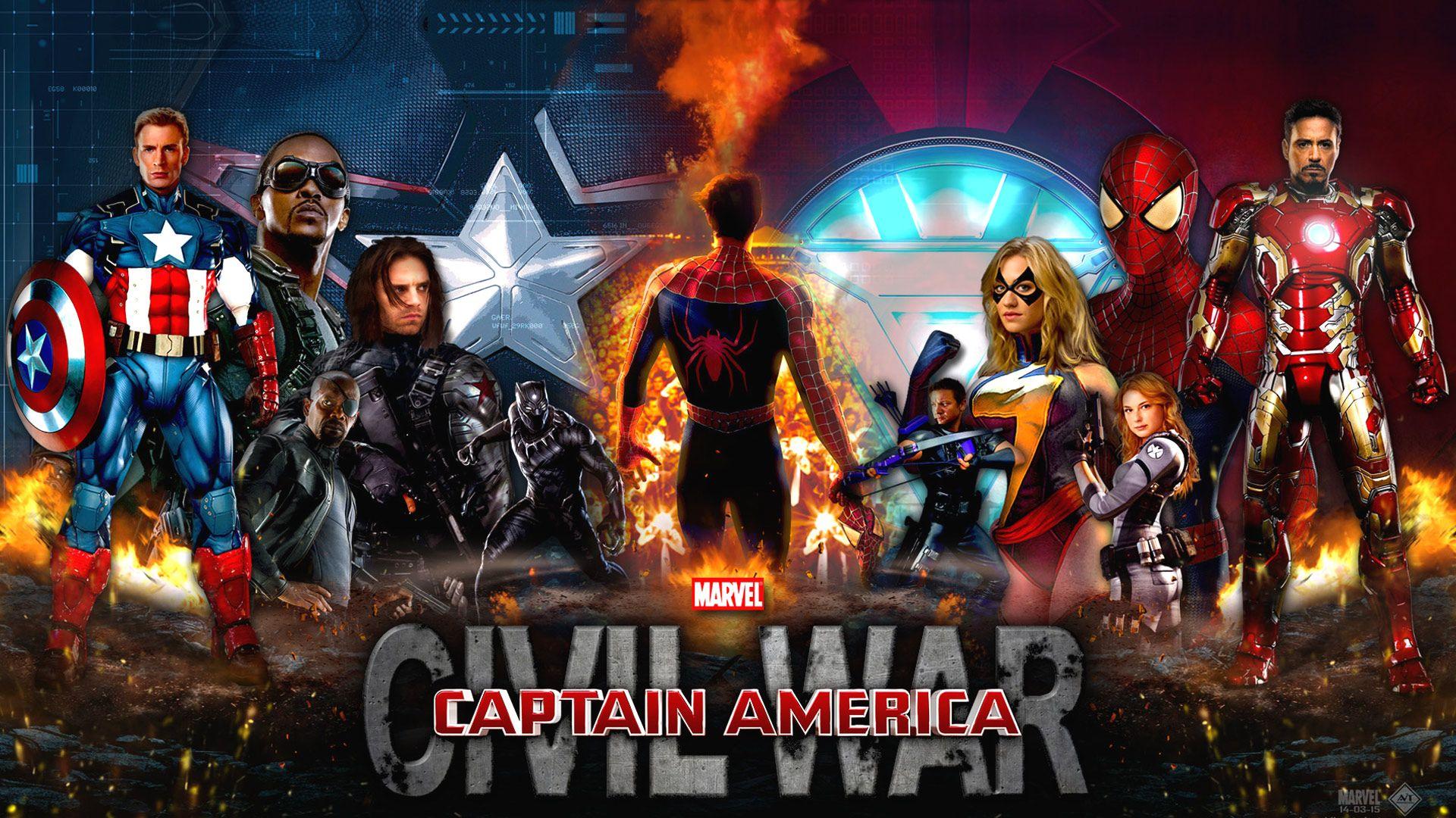 Marvel Civil War Wallpaper 1920x1080