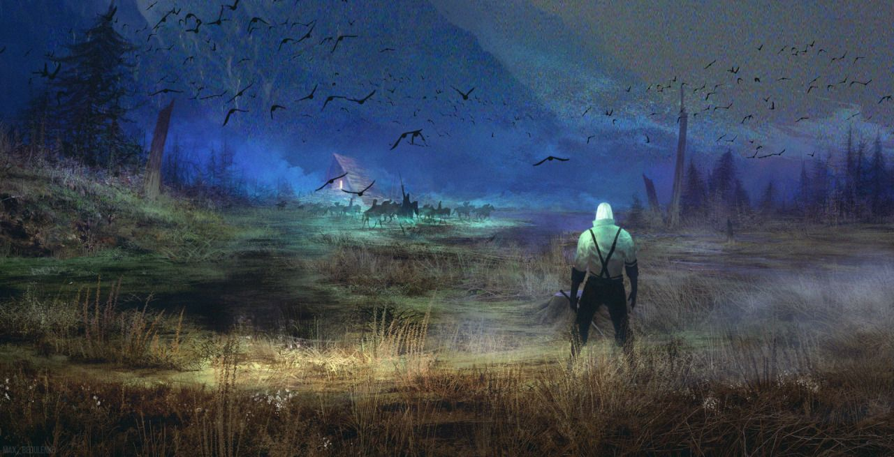 Ldquo Marsh Ghosts Rdquo Bymax Bedulenko With Images Creature