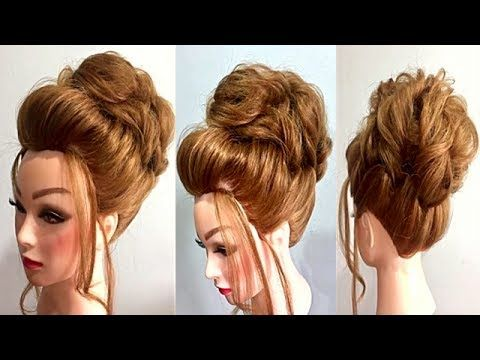 New Hairstyles For Short Hair Youtube With Images Wedding Hairstyles Hair Styles Short Hair Styles