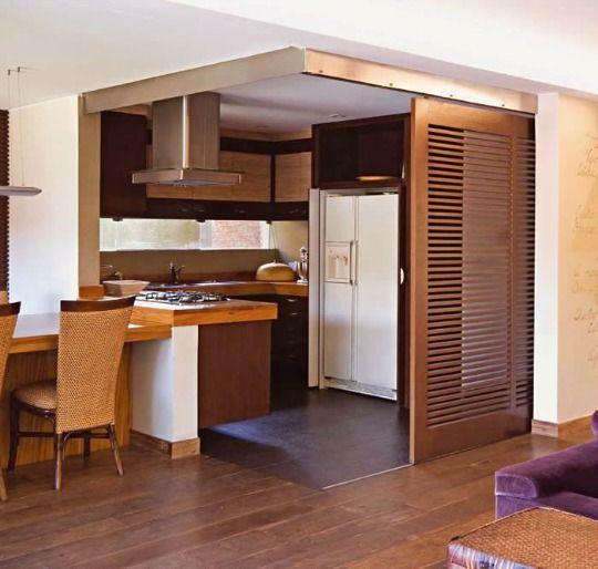 Ideas para cocinas peque as decoraci n del hogar for Cocinas campestres pequenas