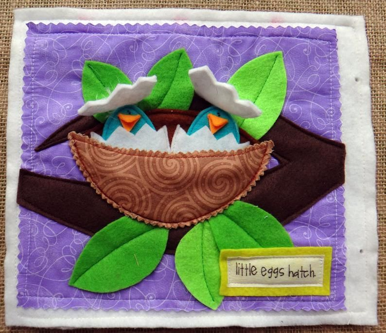 Tiny Miracles Quiet Book Pdf Pattern For Easter Felt