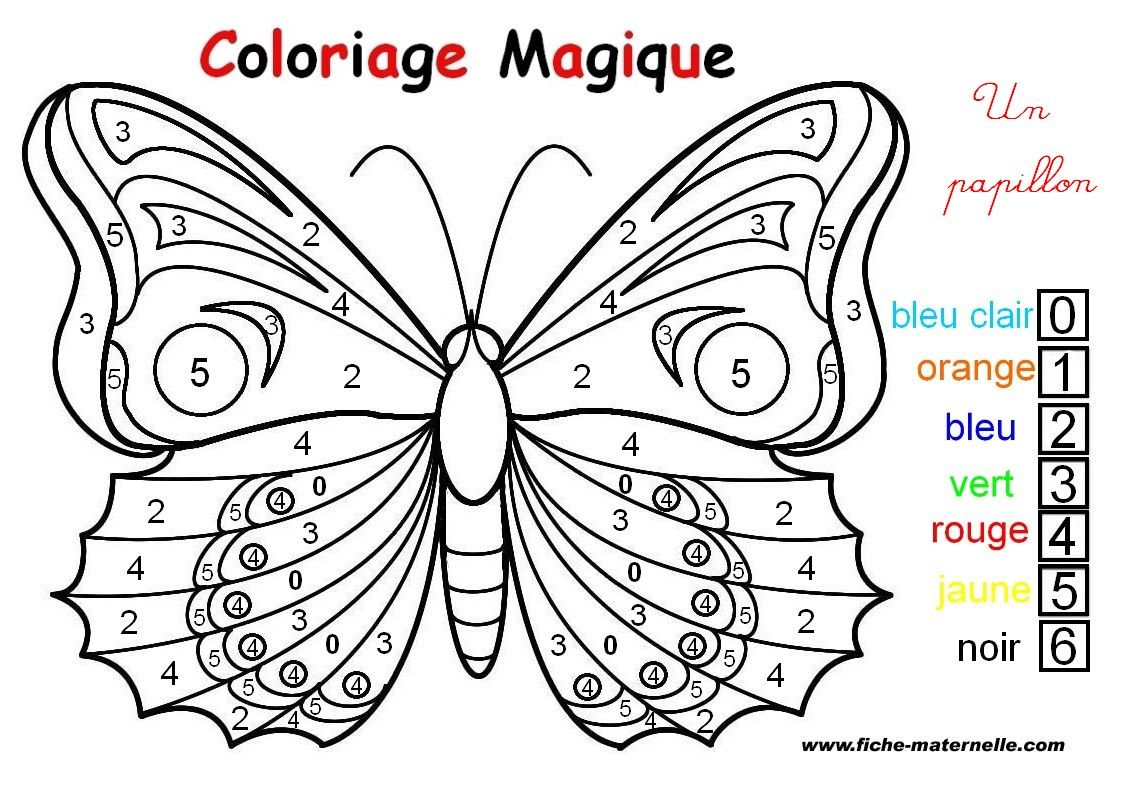 To Print Coloriage Papillons 6 Click On The Printer Icon At The