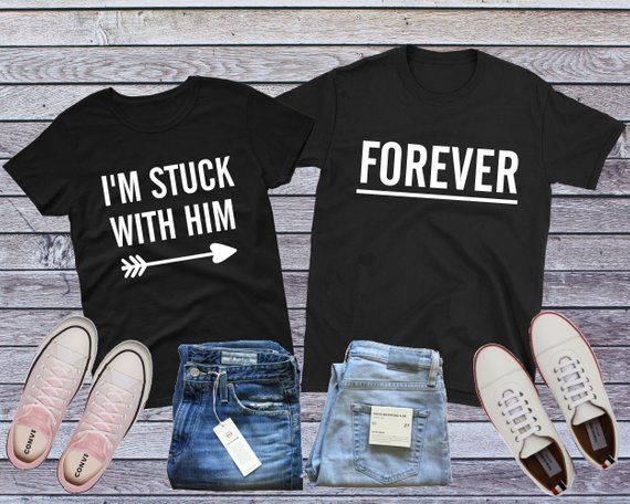 43a8461c5 Couple Engagement, Matching Couple Shirt, Engagement Gift, Wedding Shirt,  His And Her Set, Couple Gift, Engagement Photo Ideas, Fiance Shirt