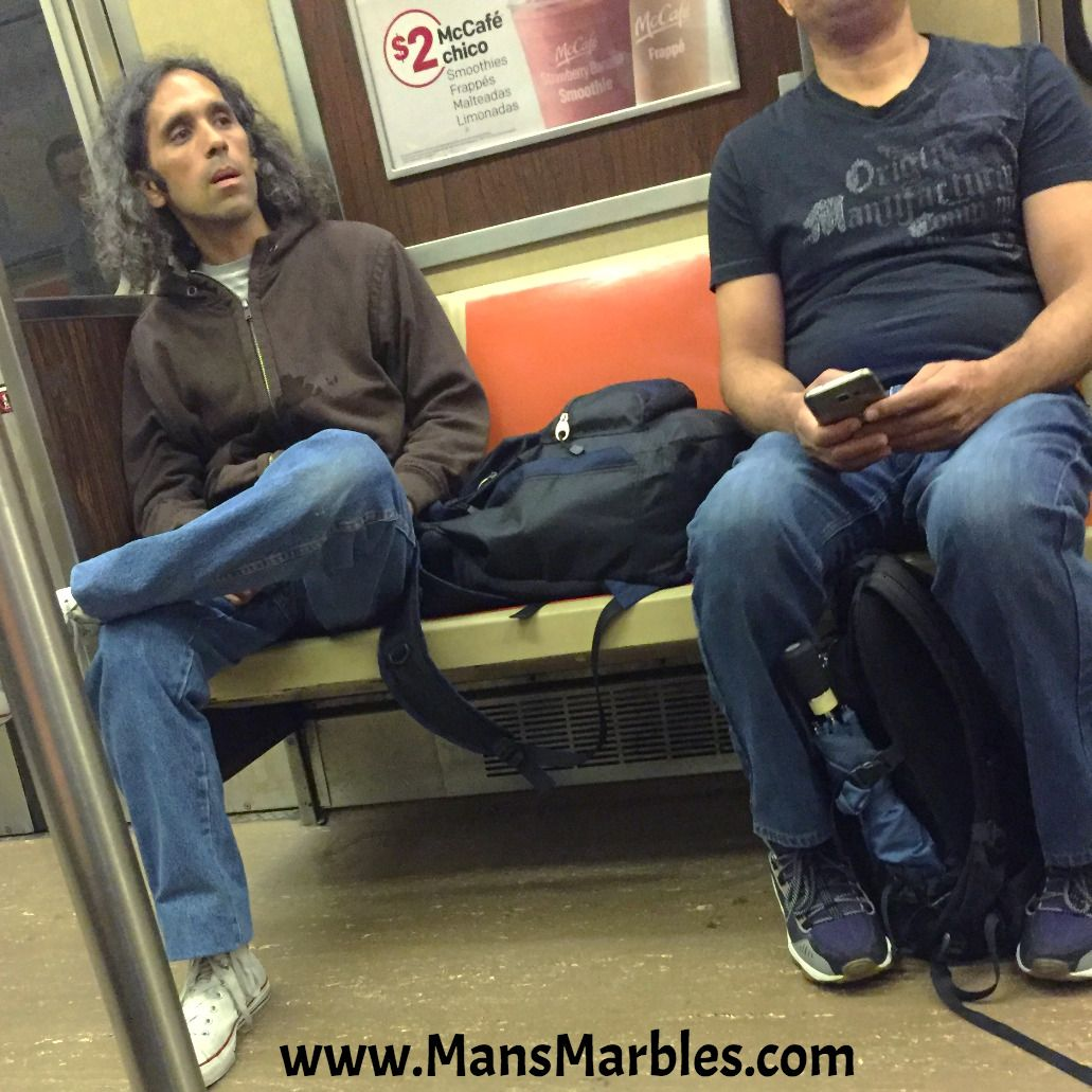 A jaw dropping manspread annoying things people do jaw